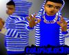 [LF] B+W Stripy Hoodie