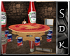 #SDK# Tomate Chat Table