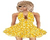 *PFE yellow floral dress