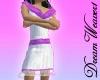 Flirty Lace in Purple
