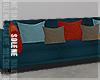 s | Teal Living Sofa