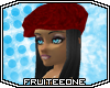 ~FO~ PartyHat-Lauryn-Red