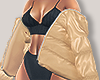 I│Puffer Jacket Tan