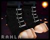 Pawed Booties Black