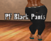 PF Black Pants