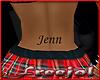 *F* tattoo JENN 2
