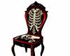 skeleton / bones chair