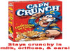 Captain Crunch Requested