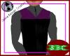 VOY Vest Purple Duty M