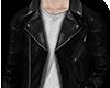 Gradient Leather Jacket