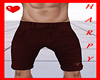 H.Red Ripped Short