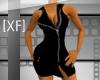 [XF] ZipperDress;BLK