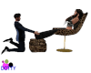 foot massage leopard