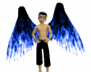 Blue Flame Wings