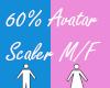 60% Avatar Scaler