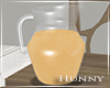 H. Orange Juice Pitcher