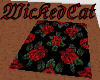Wickeds Red Rose Rug