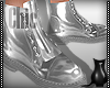[CS] Chic Silver Boots