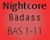 Nightcore - Badass