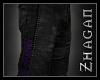 [Z] Necrom.Pants purple