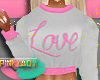 <P>G/Pink LoVe Sweater