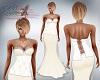 Katz~ Ivory Diamond Gown