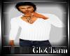 Glo* V~Neck KnitWhite
