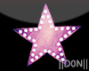 STAR pink Neon Lamps