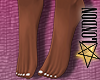 Feet: White Pedicure