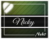 *NK* Nicky (Sign)