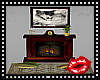 Shadow Wolf Fireplace