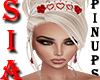 SIA<O>RED HEARTS TIARA