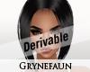Derivable bob hairstyle