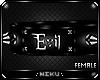 *Evil Collar Black PVC