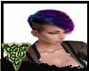 short purple Ombre Hair