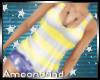 AM:: Stripe Tank Yellow