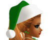 Green Christmas Elf Hat