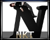 Letter N Black with pose