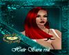hair sara red