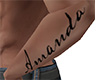 Amanda Forearm Tattoo M