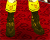 !(ALM) ARMOUR BOOTS GOLD