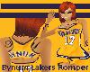 *K* Lakers Romper XXL