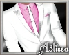 *MA* white pink suit