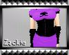 purple geisha dress