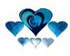 light coeur bleu