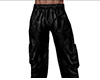 Leather Cargo Pants 3 M