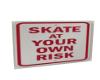 youtube skate sign