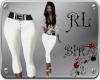 EVE-White Pants CAPRI