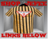 Stripped Brown Guess Tee