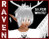 LONG PIXIE SILVER WHITE!